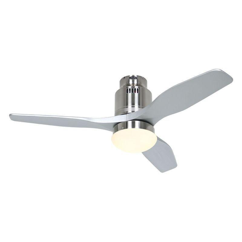 Ventilateur Plafond Aerodynamix Eco 112cm Chrome Gris argent