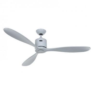 Ventilateur Plafond Aeroplan Eco 132cm Gris clair